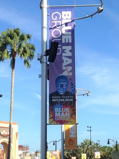 Citywalk Blue Man Group