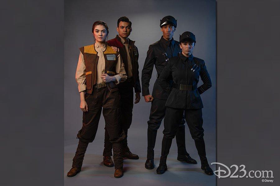 Novidades da Star Wars Cast Members roupa
