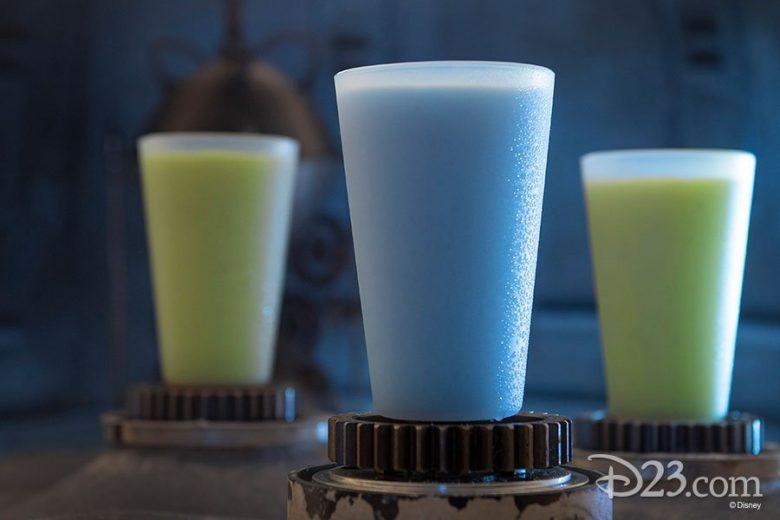 Novidades da Star Wars Leite Azul Verde