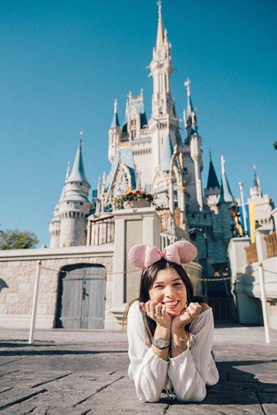 Fotos na Disney Castelo da Cinderela Magic Kingdom
