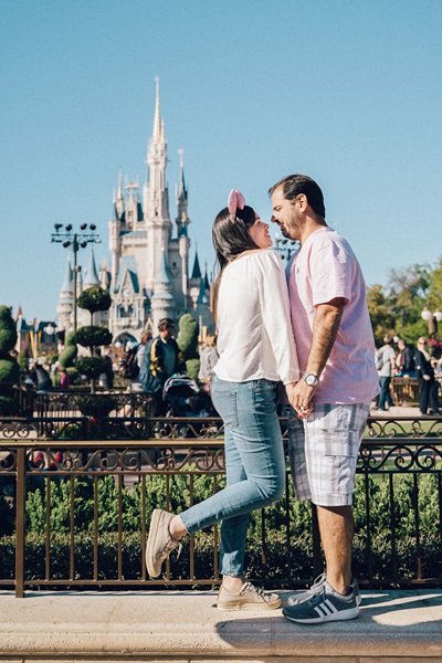 Fotos na Disney Ensaios Fotograficos casal