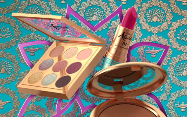 Coleção de maquiagem MAC Aladdin- linda!
