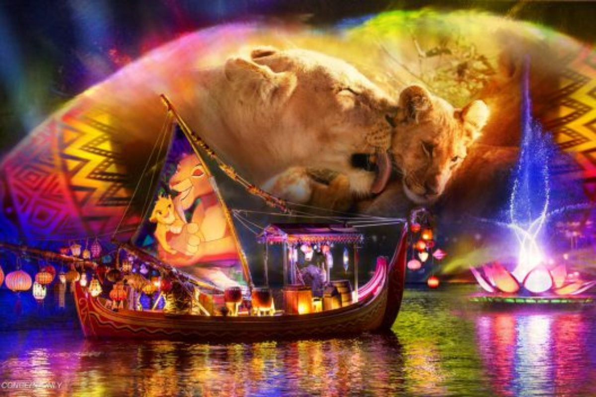 Novo show Rivers of Light no Animal Kingdom