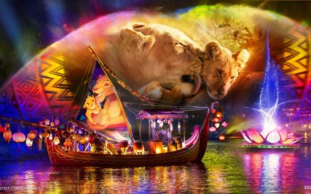 Novo show Rivers of Light no Animal Kingdom