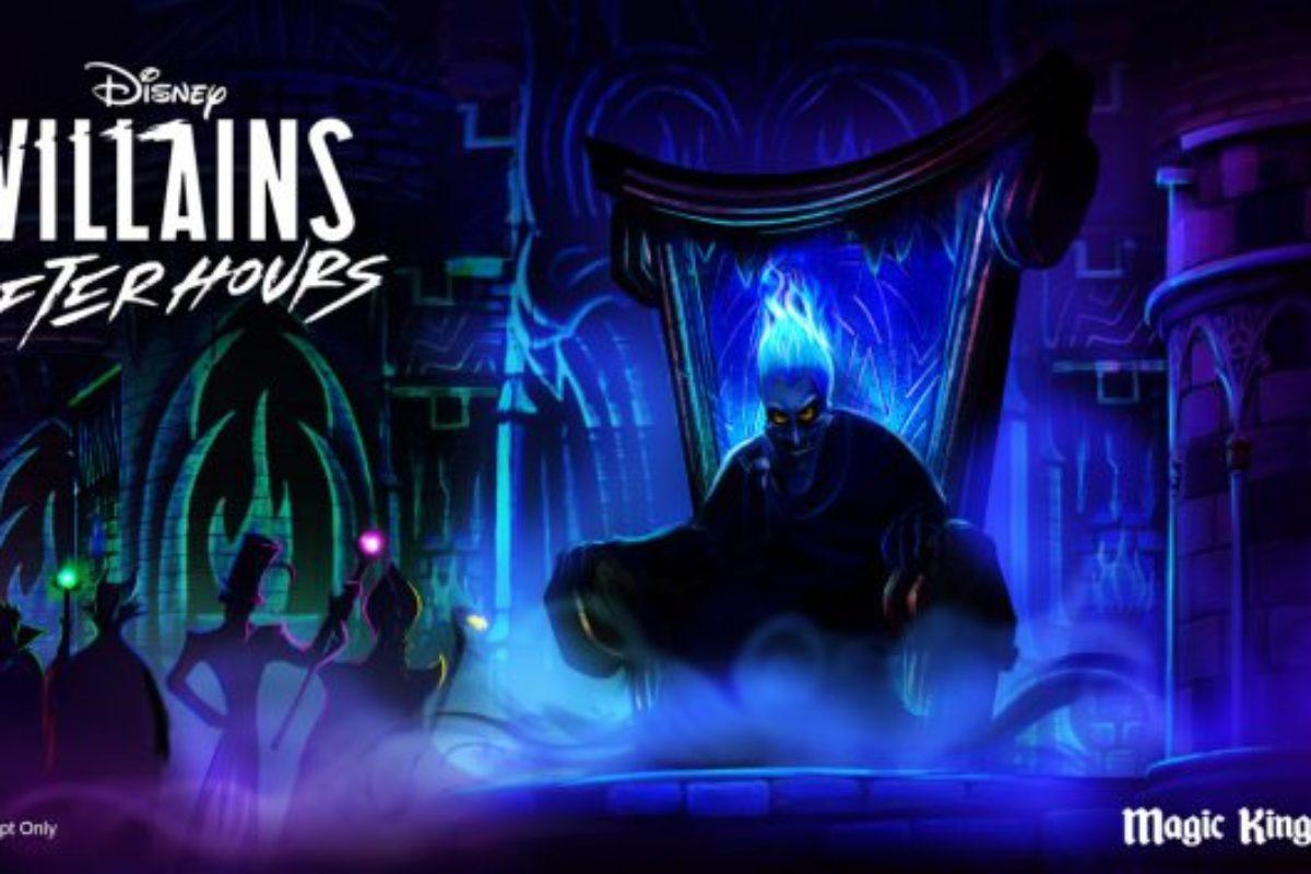 Vilões da Disney participarão do Disney AfterHours
