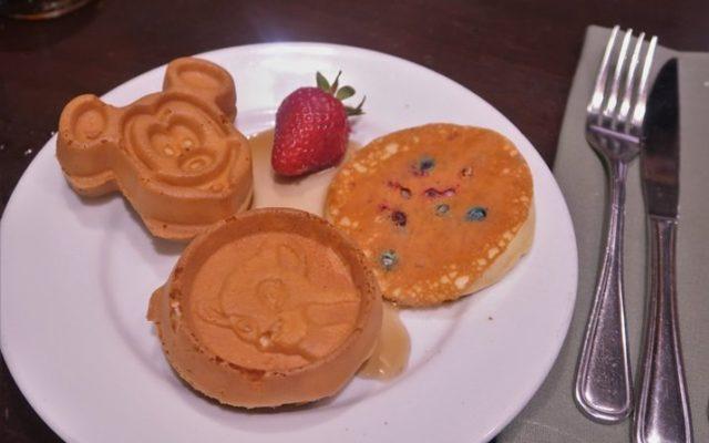 Boma: buffet de café da manhã da Disney
