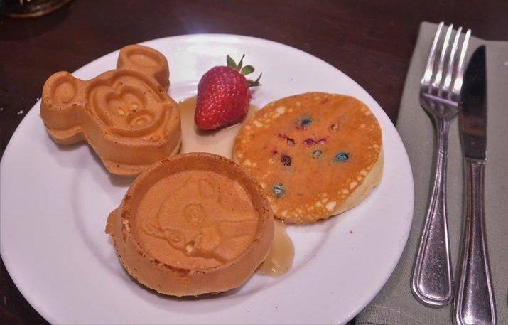 Boma buffet café da manhã Disney