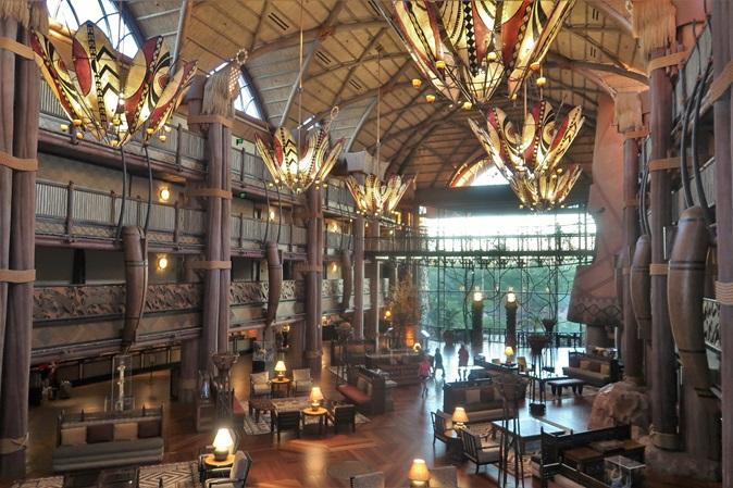 Animal Kingdom Lodge hotel