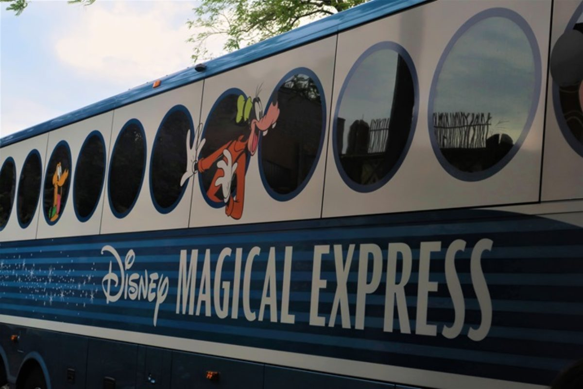 Disney's Magical Express: transporte para hóspedes no aeroporto