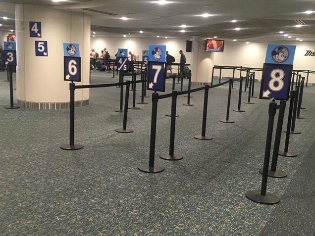 Disney's Magical Express filas