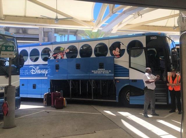 Disney's Magical Express bagagem