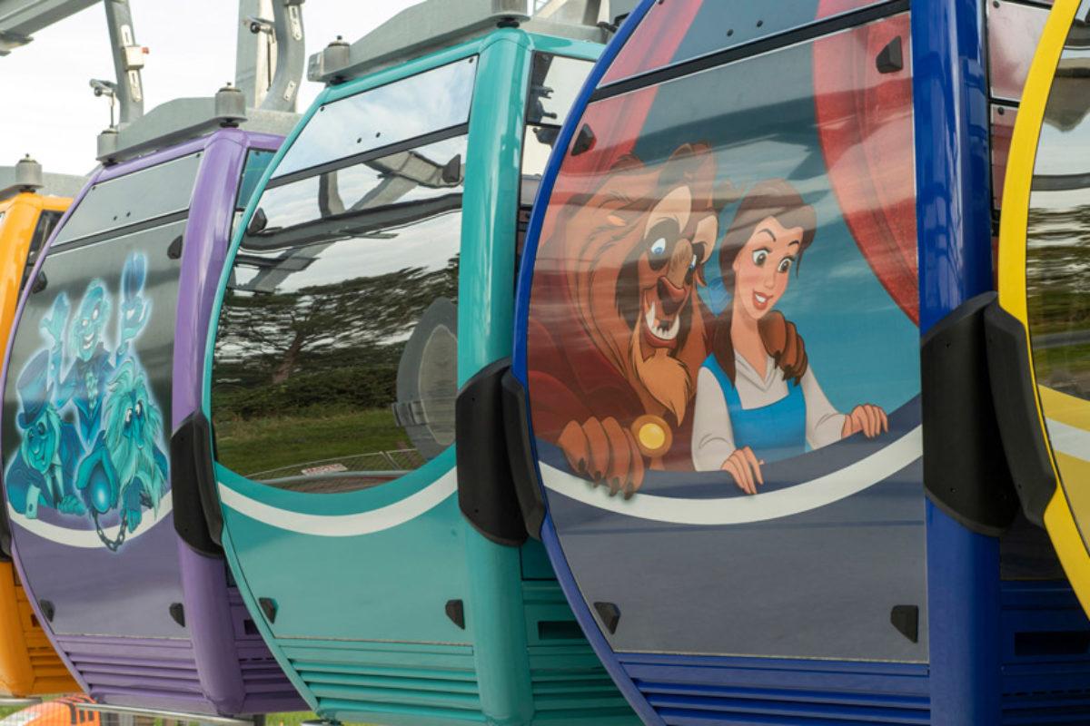 Disney Skyliner: novo teleférico da Disney