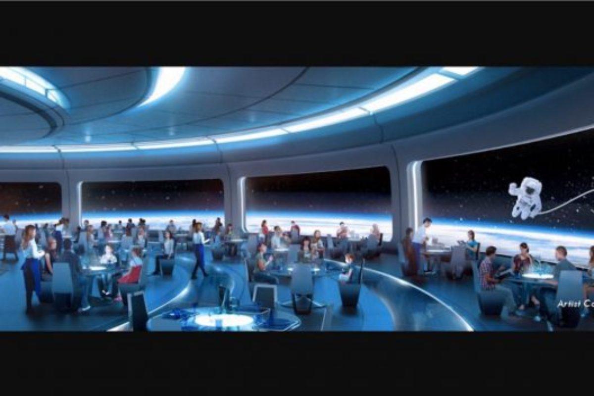 Restaurante espacial do Epcot chega em 2019!