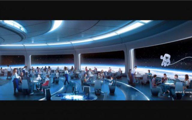 Restaurante espacial do Epcot chega em2019!