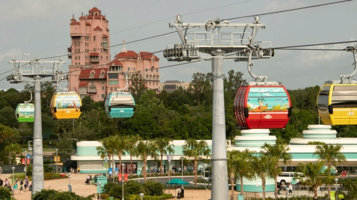 Disney Skyliner teleferico