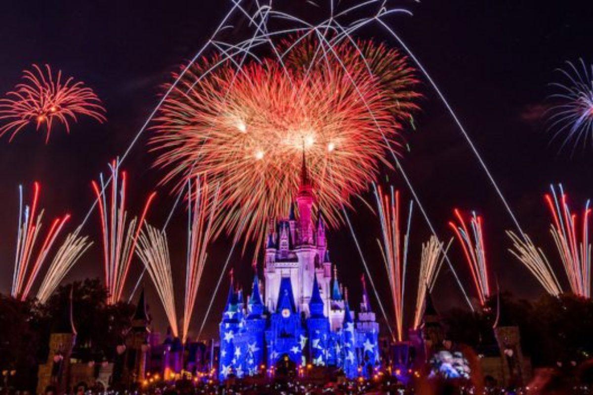 Celebração de 4 de Julho na Disney