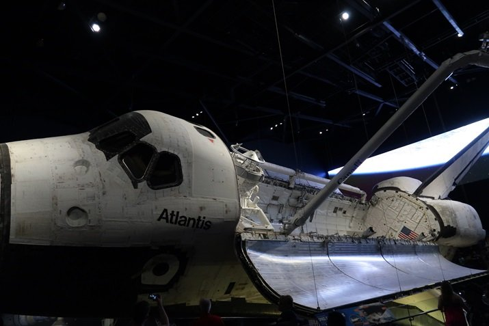 Kennedy Space Center Atlantis Disney