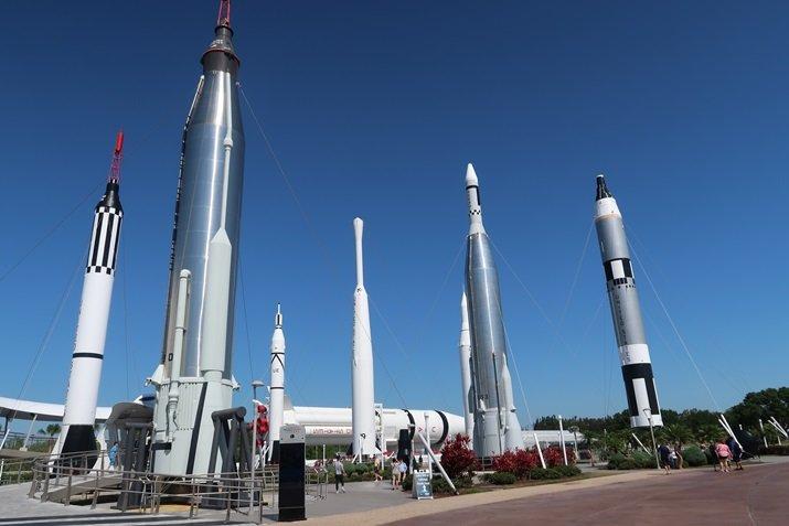 Kennedy Space Center Jardim de Foguete