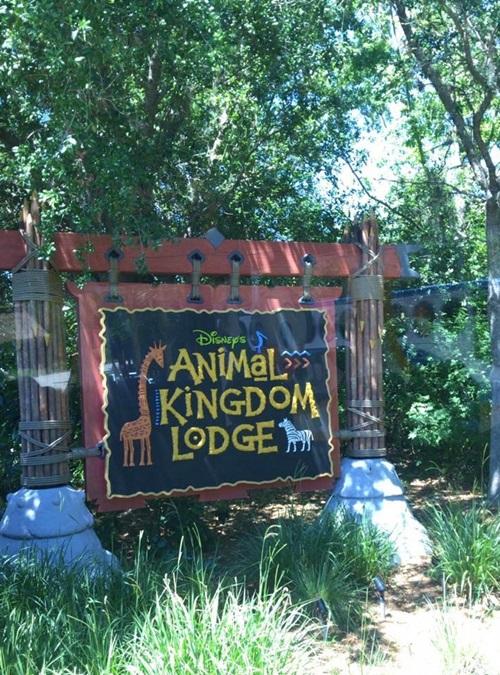 Animal Kingdom Lodge Entrada