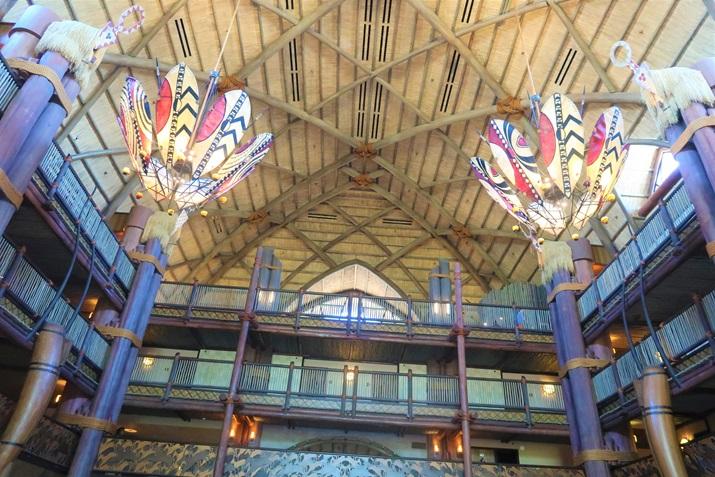 Animal Kingdom Lodge decoração