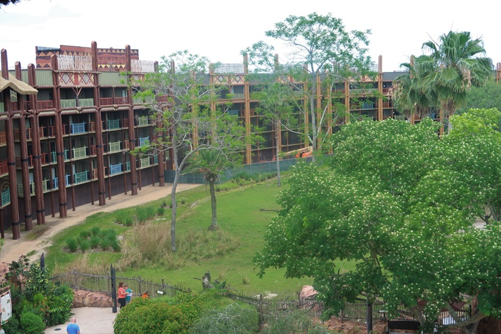 animal kingdom lodge vista dos quartos