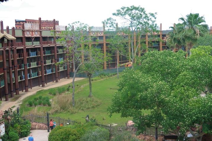 animal kingdom lodge vista dos quartos