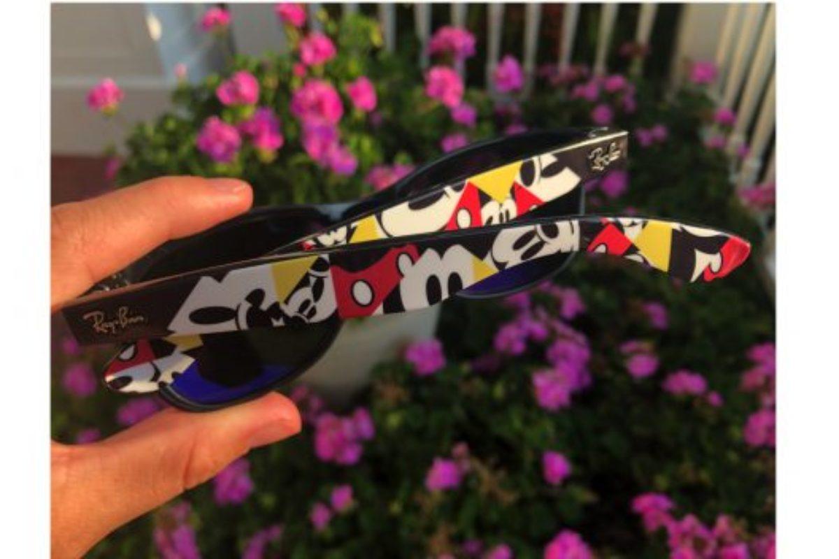 Novo óculos Ray-Ban do Mickey