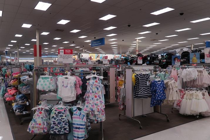 Target em Orlando roupas