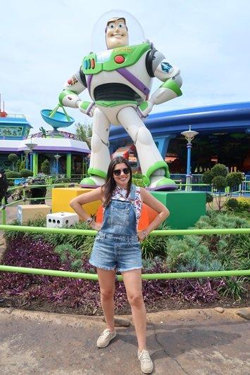 Toy Story land parque Disney