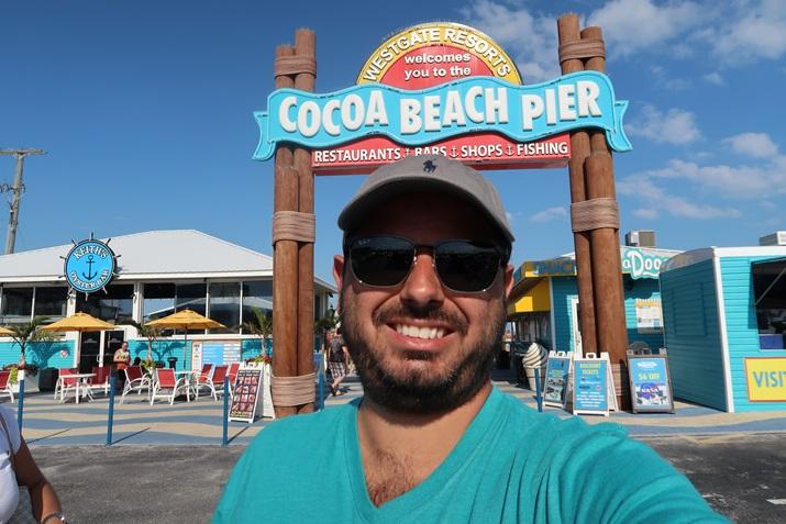 Passeio Praia Cocoa Beach