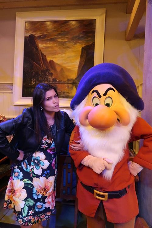 Jantar com Zangado na Disney