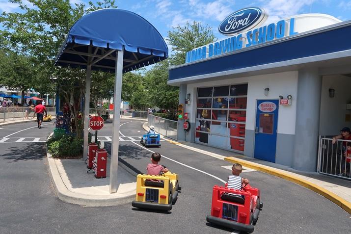 Parque Legoland para crianças pequenas
