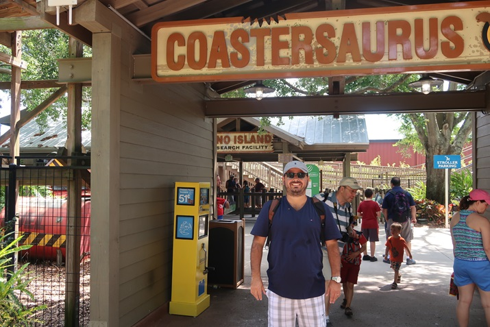 Parque Legoland coastersaurus