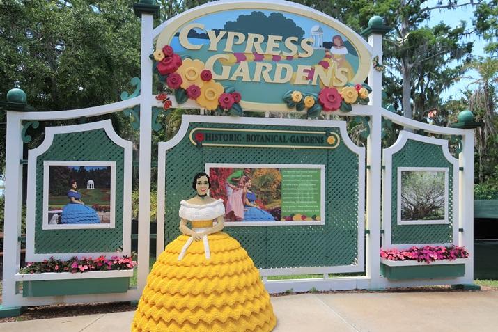 Parque Legoland cypress garden