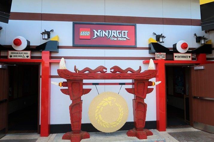 atração legoland Ninjago