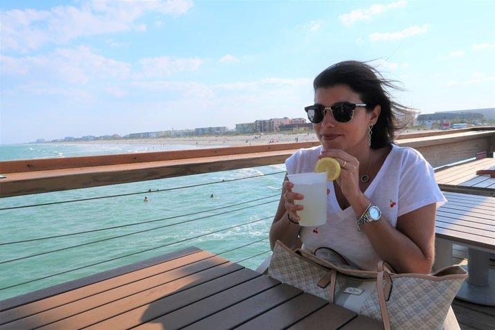 Cocoa Beach pier passeio