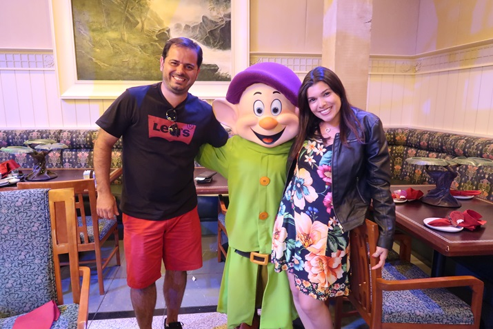 Jantar com Dunga na Disney