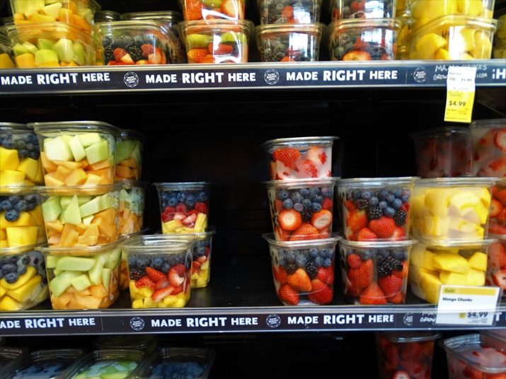 Whole foods supermercado frutas para levai aos parques