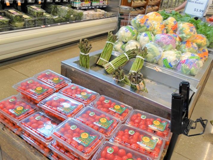 Whole foods supermercado em orlando vegetais