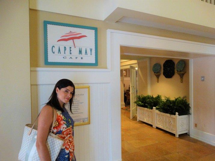 cape may disney buffet café da manhã