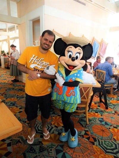 Cape May refeição com Minnie