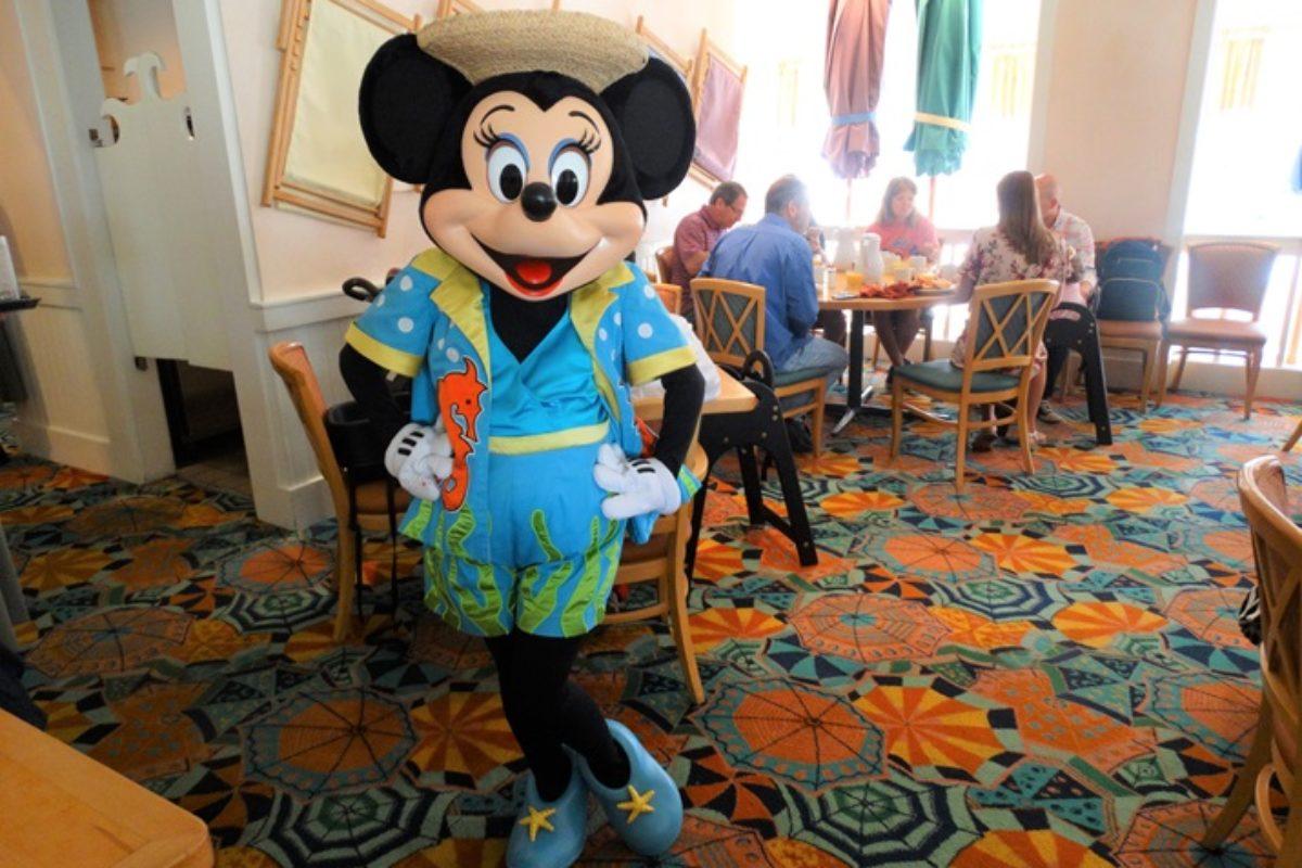 Cape May Cafe: refeição com Personagens da Disney