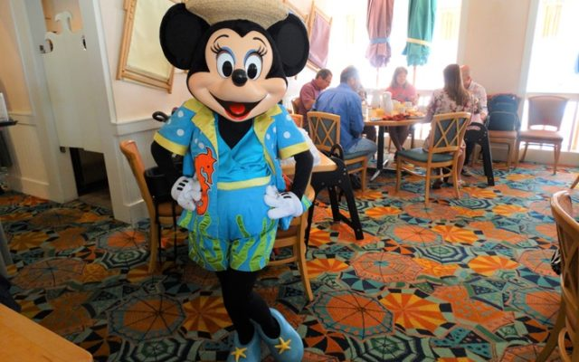 Cape May Cafe: refeição com Personagens da Disney