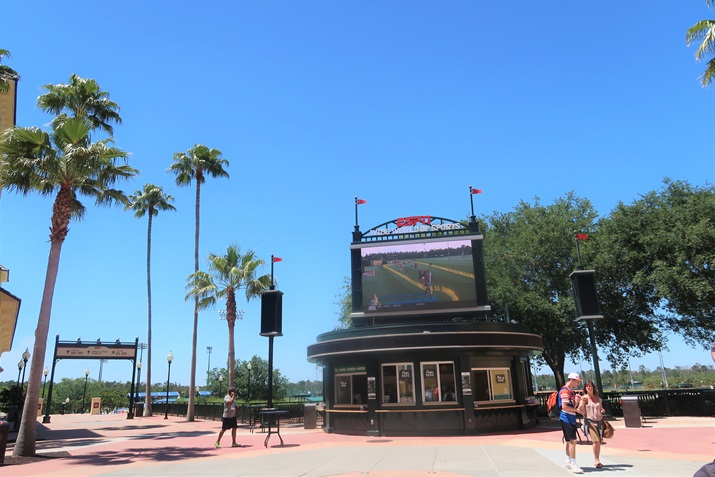 ESPN Wide World of Sports Entrada