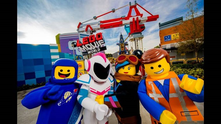 Parque Legoland lego movie world