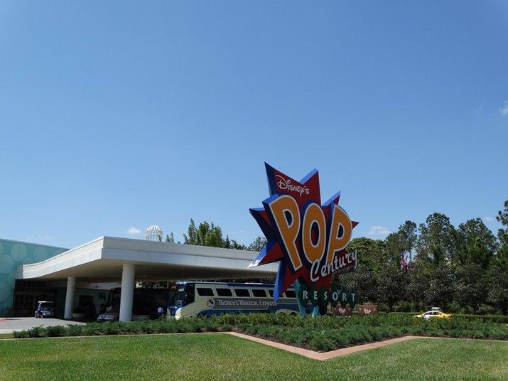 Pop Century Hotel Disney