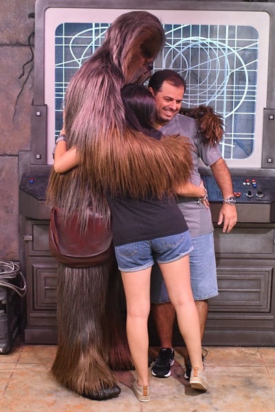 Personagens Star Wars Hollywood Studios