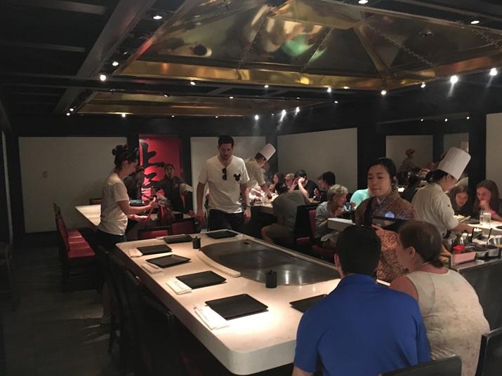 Teppan Edo Japão Mesas