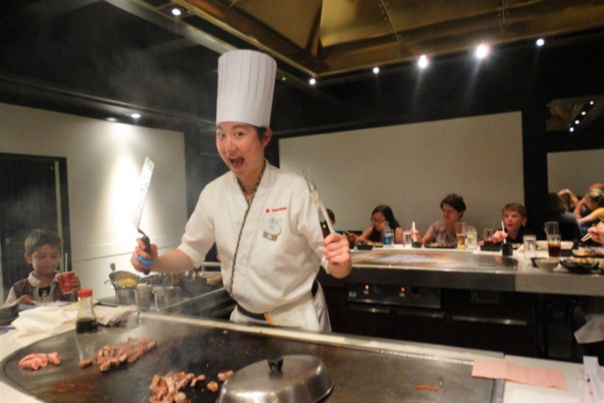 Teppan Edo: restaurante japonês no Epcot