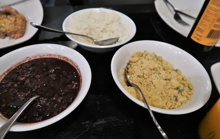 Boteco do Manolo Orlando arroz feijão